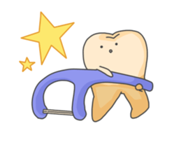 Baby Cute Tooth Stickers messages sticker-8
