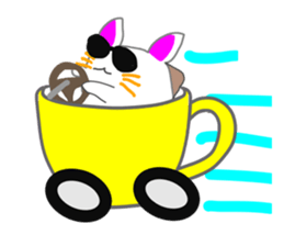 Cute icat Stickers messages sticker-6