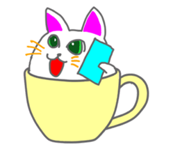 Cute icat Stickers messages sticker-0