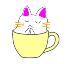 Cute icat Stickers messages sticker-11