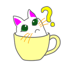 Cute icat Stickers messages sticker-4