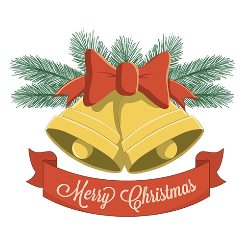 Merry Christmas Collage - Typography Captions messages sticker-3