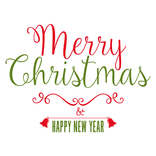 Merry Christmas Collage - Typography Captions messages sticker-10