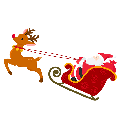 Merry Christmas Collage - Typography Captions messages sticker-7