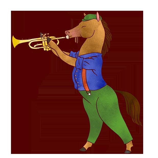 Jazzy Animal Musicians messages sticker-2