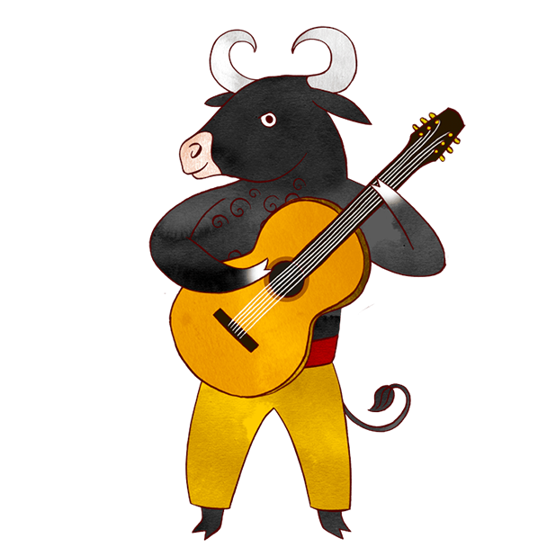 Jazzy Animal Musicians messages sticker-4