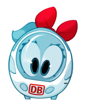 Der kleine ICE Sticker messages sticker-1