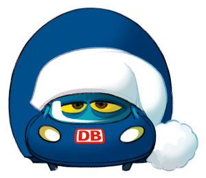 Der kleine ICE Sticker messages sticker-3
