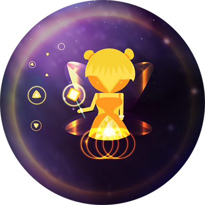 Space Beaver: Fast reaction game with gesture messages sticker-4
