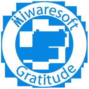 Miwaresoft Gratitude Free messages sticker-8