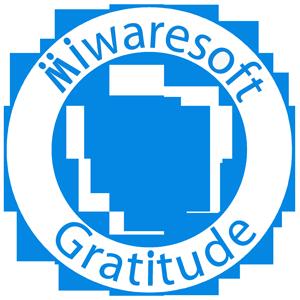 Miwaresoft Gratitude Free messages sticker-0