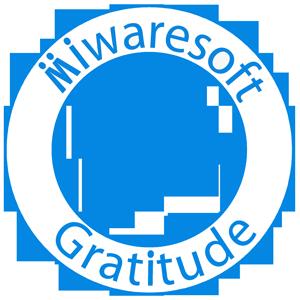 Miwaresoft Gratitude Free messages sticker-10