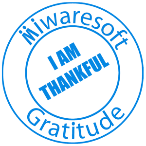 Miwaresoft Gratitude Free messages sticker-11