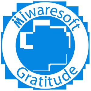 Miwaresoft Gratitude Free messages sticker-7
