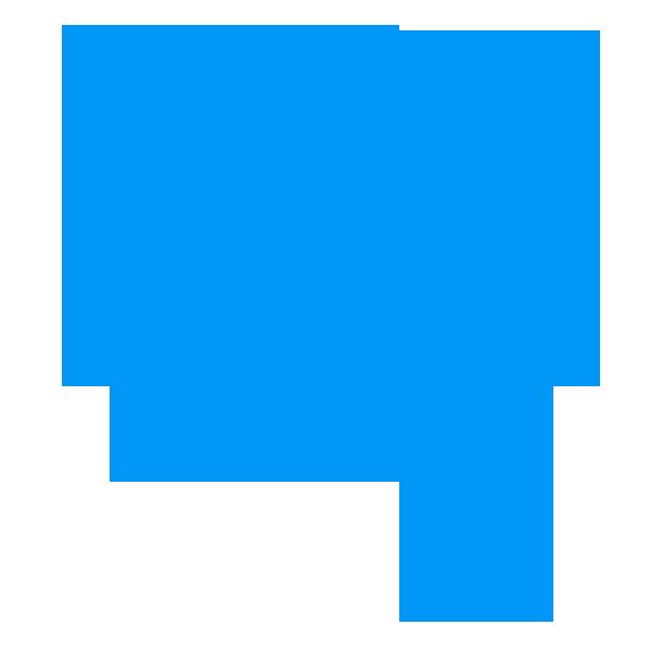 Speech bubbles messages sticker-10