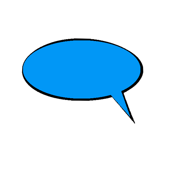 Speech bubbles messages sticker-6