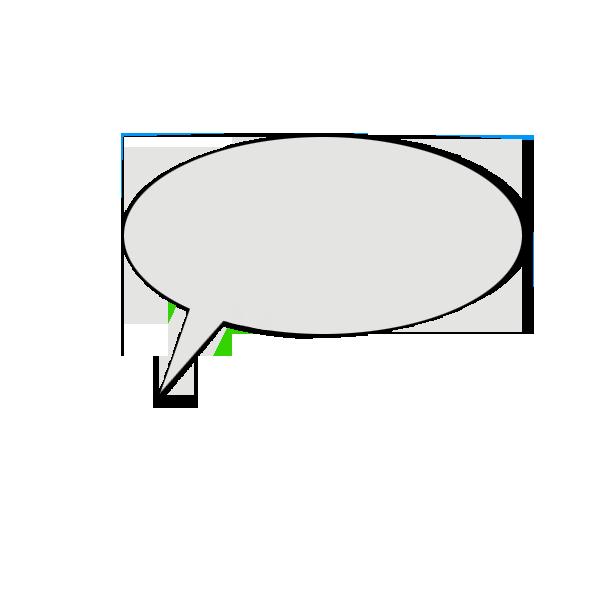 Speech bubbles messages sticker-7