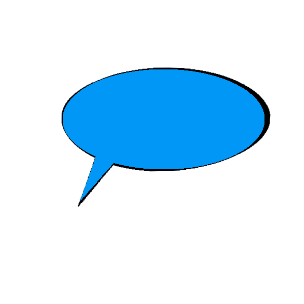 Speech bubbles messages sticker-8
