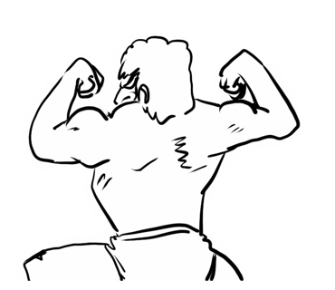 Fitness Man messages sticker-11