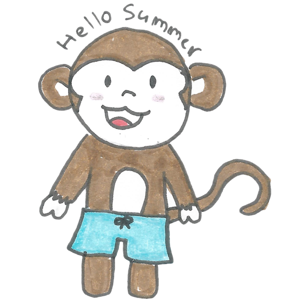 Vera's Monkey messages sticker-9