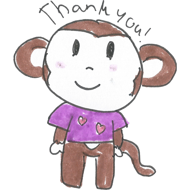 Vera's Monkey messages sticker-4