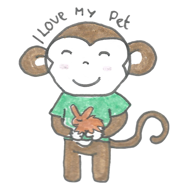 Vera's Monkey messages sticker-10