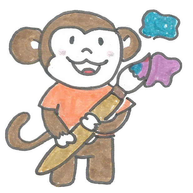 Vera's Monkey messages sticker-11
