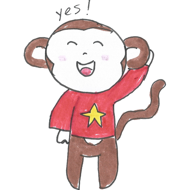 Vera's Monkey messages sticker-7