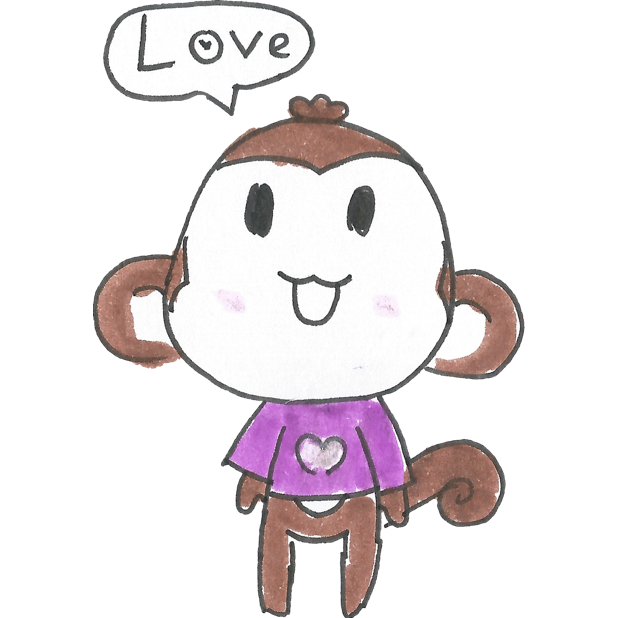 Vera's Monkey messages sticker-1