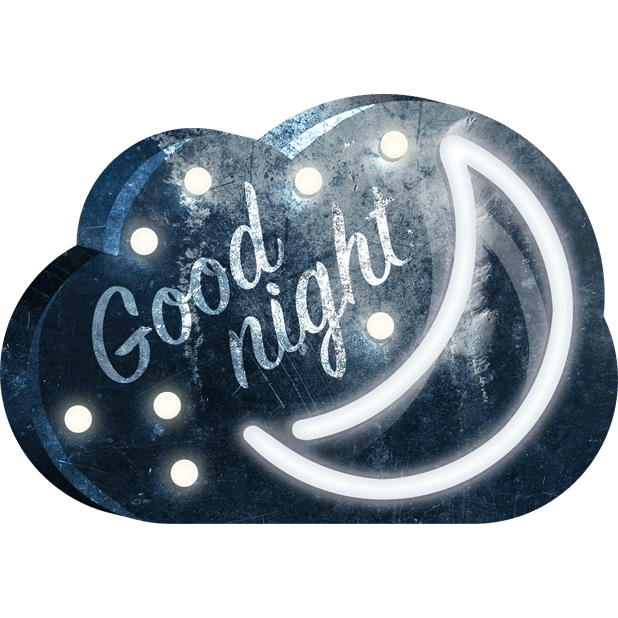 Loft Signs & Marquee Lights - chat with taste! messages sticker-8