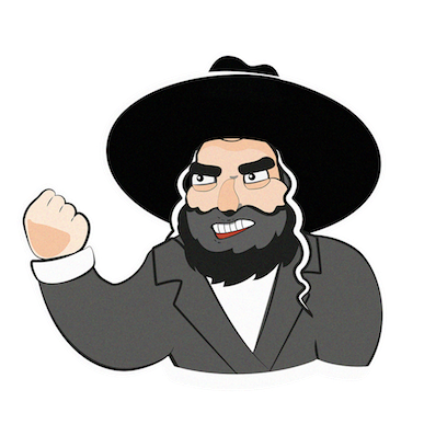 Jewish Stickers messages sticker-9