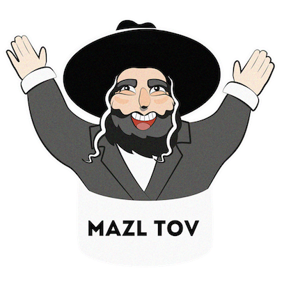 Jewish Stickers messages sticker-11