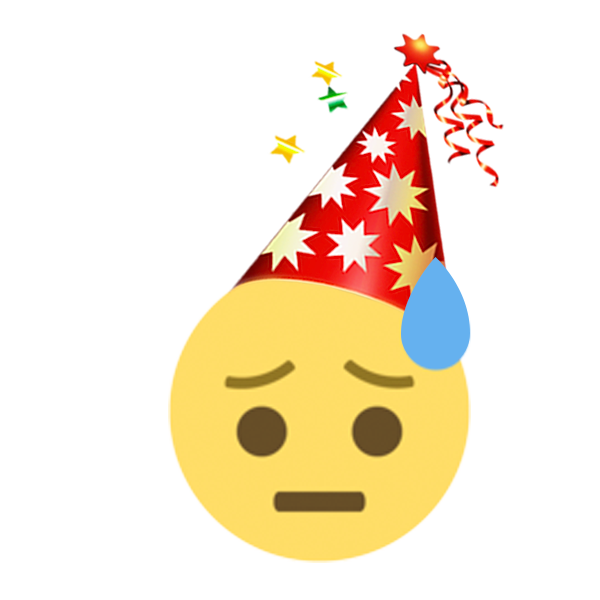 New Year Emoji - Emojis Sticker For iMessage messages sticker-1