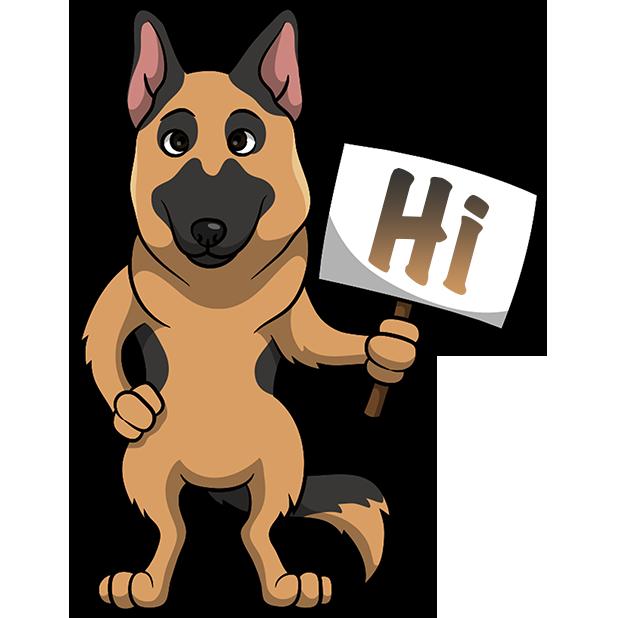ShepherdMoji - German Shepherd Emoji & Stickers messages sticker-9