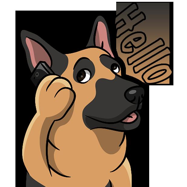 ShepherdMoji - German Shepherd Emoji & Stickers messages sticker-10