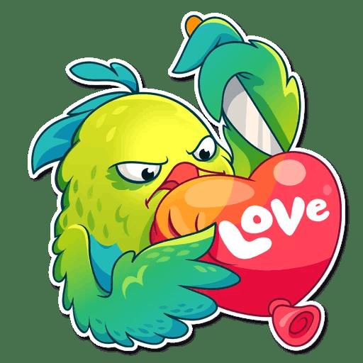Hummingbird! Stickers messages sticker-4