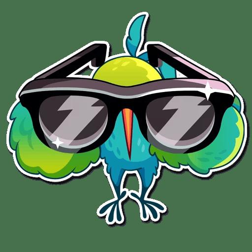 Hummingbird! Stickers messages sticker-9
