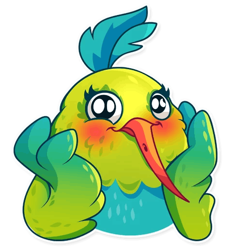 Hummingbird! Stickers messages sticker-11