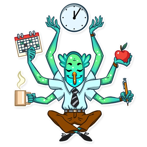 Office Clerk! Stickers messages sticker-5