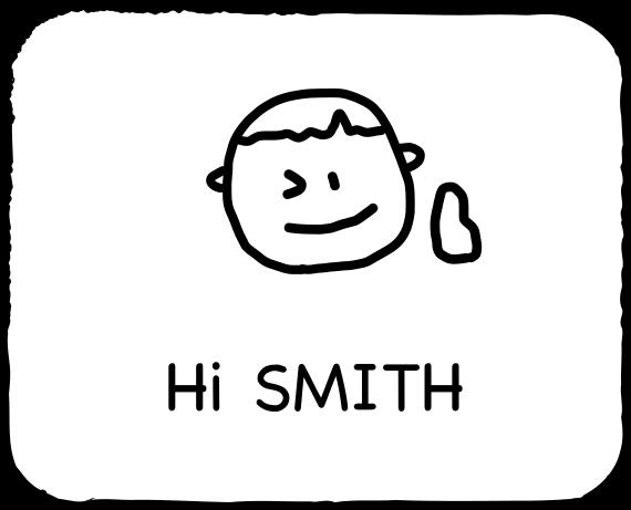 Emoji for SMITH messages sticker-1