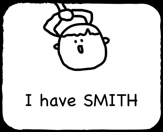 Emoji for SMITH messages sticker-2