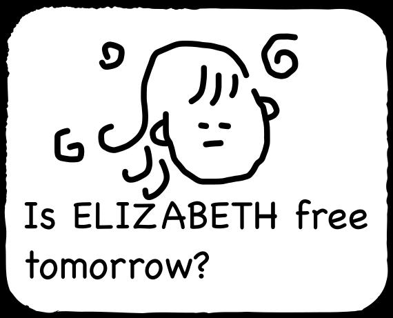 Emoji for ELIZABETH messages sticker-5