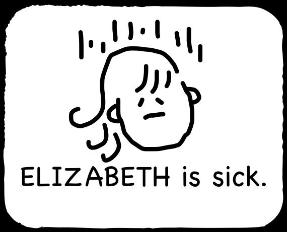 Emoji for ELIZABETH messages sticker-8