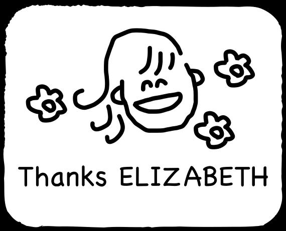 Emoji for ELIZABETH messages sticker-3