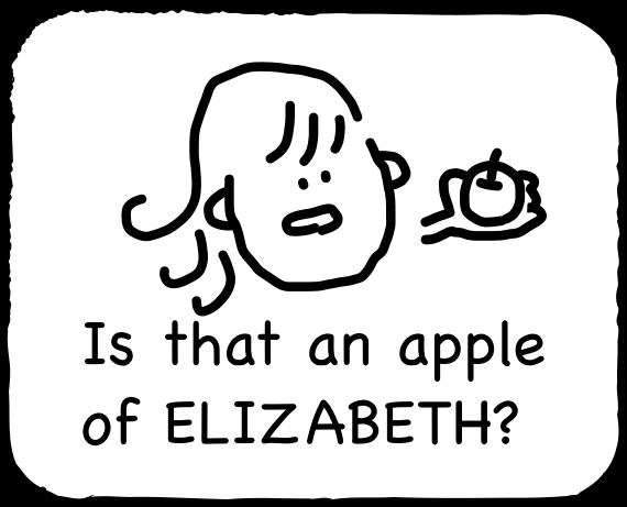 Emoji for ELIZABETH messages sticker-4