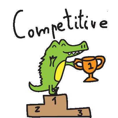 Golu the crocodile messages sticker-1