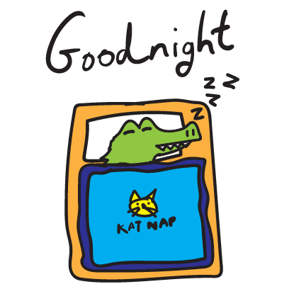 Golu the crocodile messages sticker-9