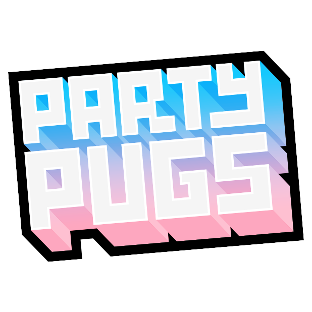 Party Pugs Sticker Pack messages sticker-0