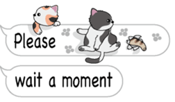 Cat Cat Cat English Version Stickers Pack messages sticker-1