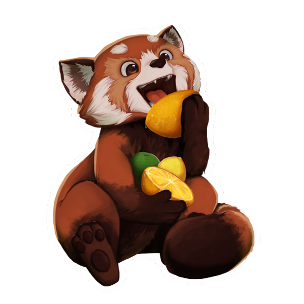 My Red Panda - My lovely pet messages sticker-4